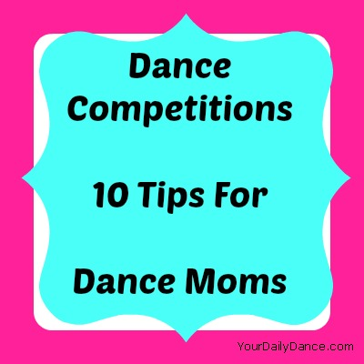 Dance Mom Survival Tips for Competition Day