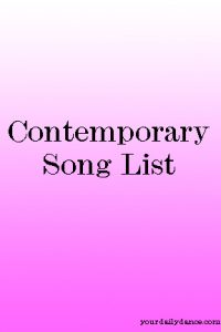 Contemporary Songs