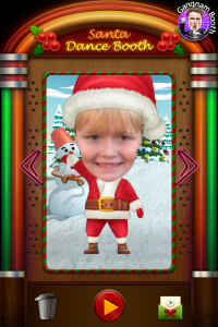 Santa DanceBooth