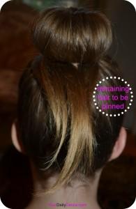 hairbunpinning