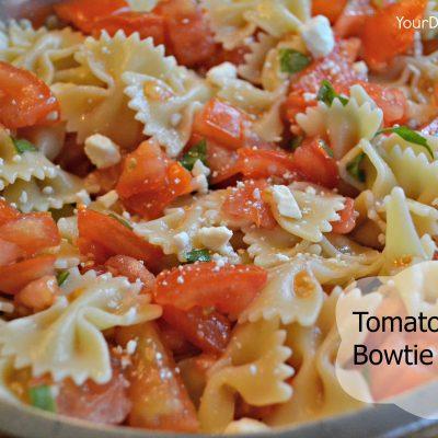Tomato Basil Bowtie Pasta