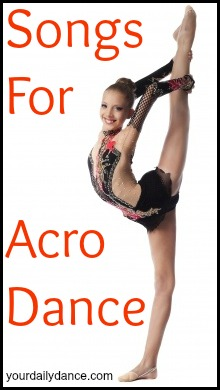 Acro Dance Songs