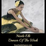 Nicole Elli Dancer of the Week