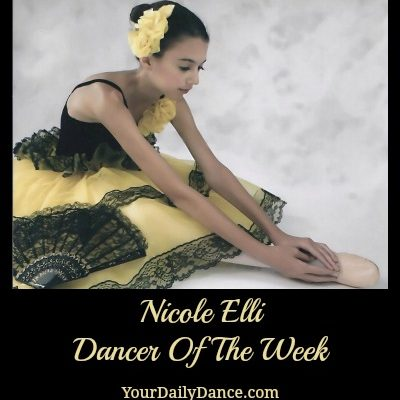 Dancer Of The Week:  Nicole Elli