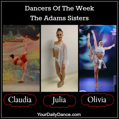 Adams Sisters - Dancers of the week