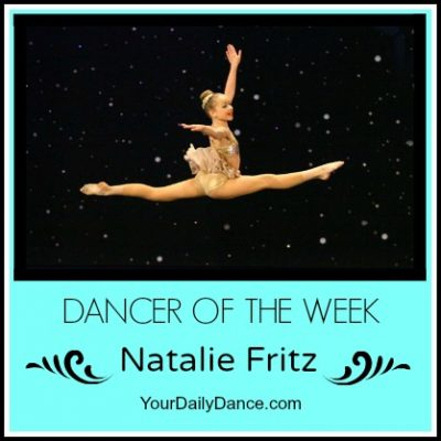 Dancer Of The Week:  Natalie Fritz
