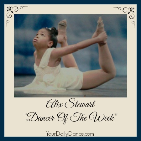 Alix Stewart Dancer of the Week