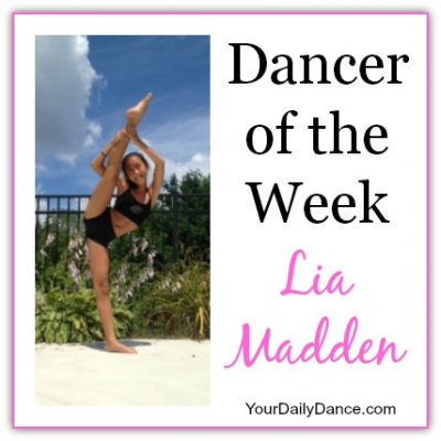Dancer Of The Week:  Lia Madden