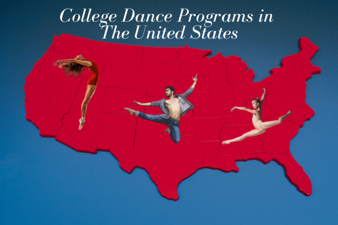 List of College Dance Programs in the United States