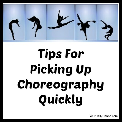 picking up choreography
