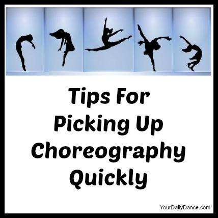 picking up choreography