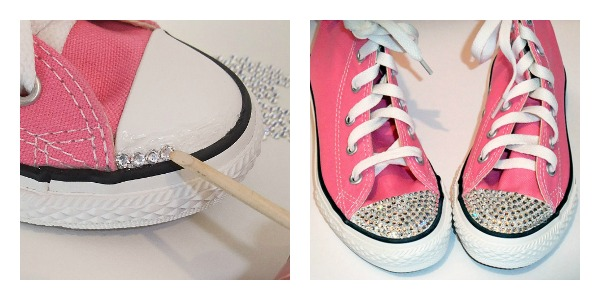 Rhinestoning Your Shoes