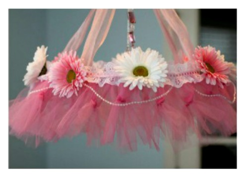 how to make a tutu chandelier 2