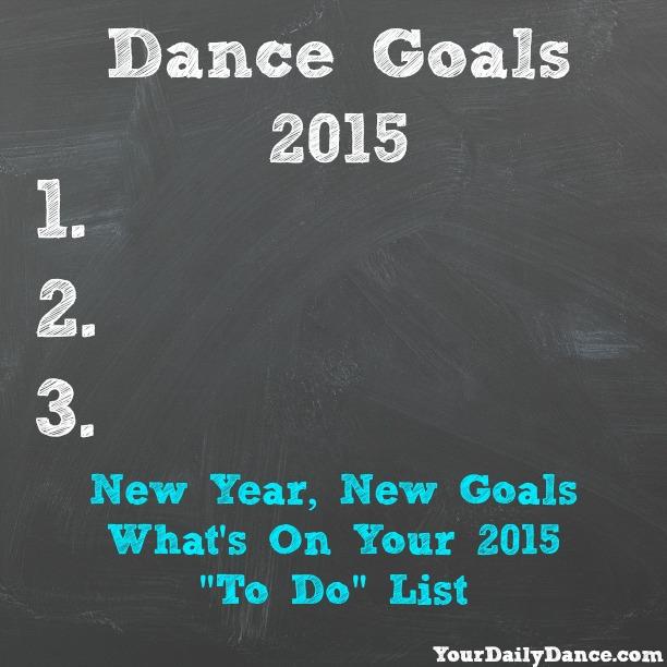 DAnce Goals 2015