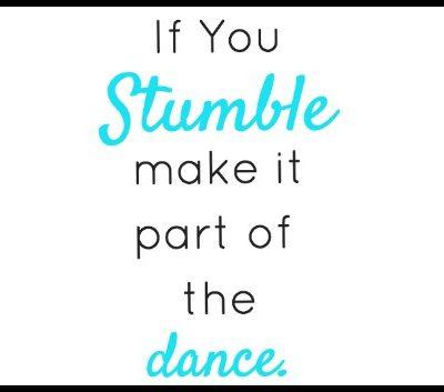 If You Stumble… Printable