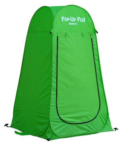 Pop up changing room tent