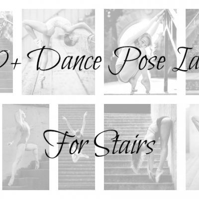 50+ Gorgeous Dance Pose Ideas for Stairs