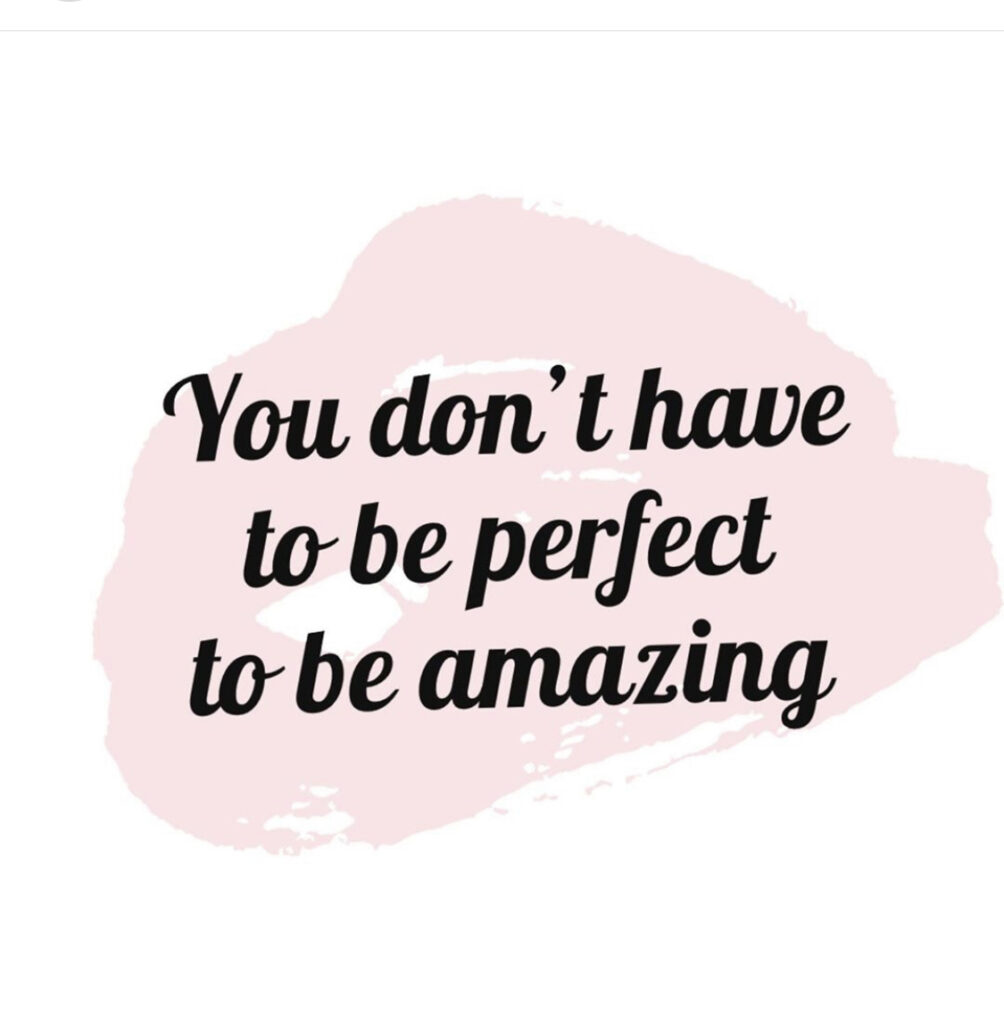 dance quotes about. you don't have to be perfect